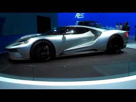 Ford GT walk about at the 2015 New York International Auto Show