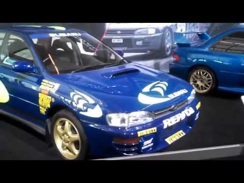 Subaru STI WRX exhibit at the 2015 New York International Auto Show