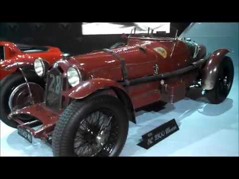 vintage Alfa at the 2015 New York International Auto Show