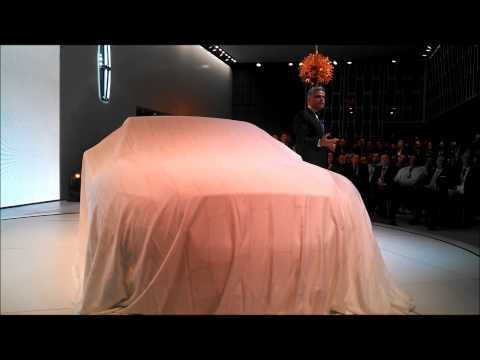 Lincoln Continental concept intro at the 2015 New York International Auto Show