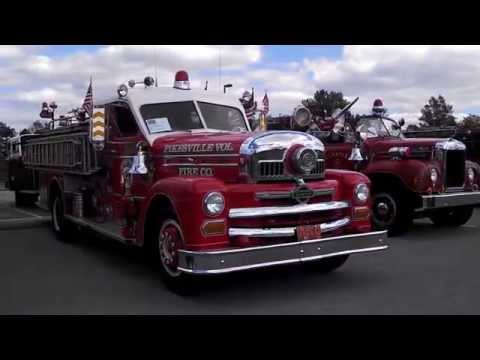 Old Fire Farts of York County Fire Muster walk about