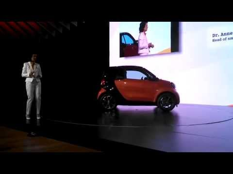 Introduction of the new Smart Car at the 2015 New York International Auto Show