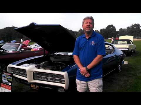 Wilson tells the story of the 1969 GTO with the white bumper and under 12,000 miles