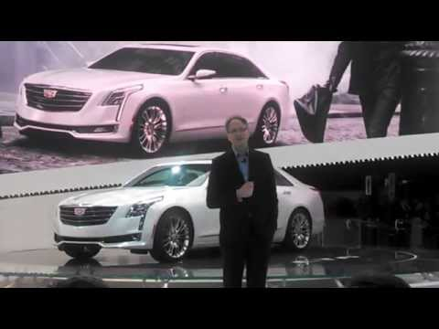 Cadillac CT6 introduction at the 2015 New York International Auto Show