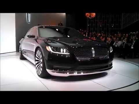 Lincoln Continental concept  short version 2015 New York International Auto Show