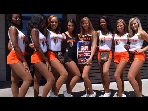 HOT ROD MADNESS COMES TO DOUGLASVILLE HOOTERS !!