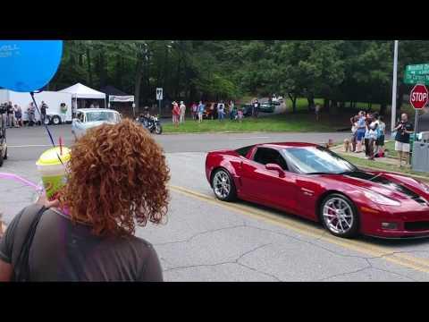 Peachtree Corners Festival Car & Bike Show Drive-Out Parade! 2017