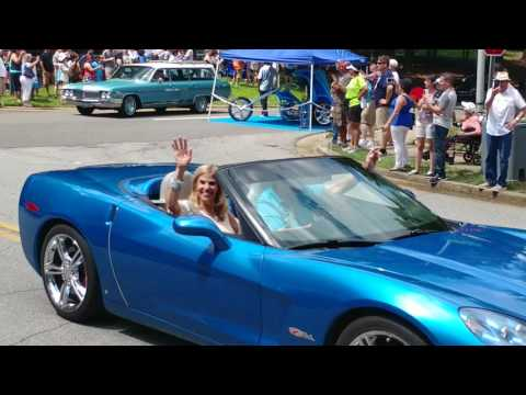 """2017 Peachtree Corners Festival South East Wheels Events Car & Bike Show Sunday  """"Drive-Out"""""""