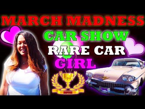 MARCH MADNESS RARE CAR GIRL