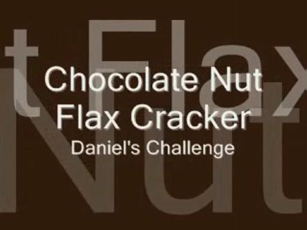 Chocolate Nut Flax Crackers