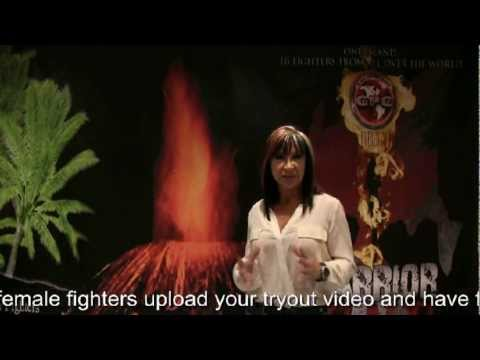 Lady Dragon Cynthia Rothrock Warrior Island callout for Female Fighters