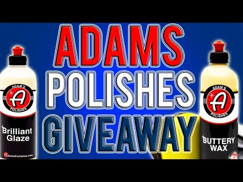ADAMS POLISHES GIVEAWAY