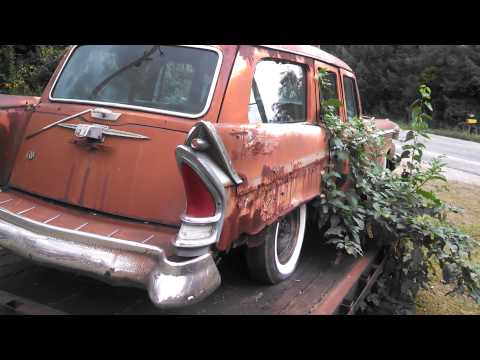 1958 Packard Station wagon a rare street treat