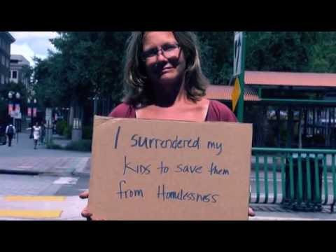 Cardboard Stories | Homeless in Orlando