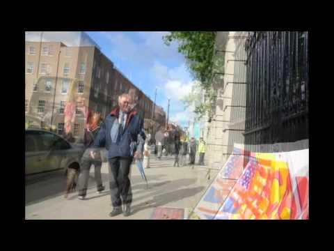 Children's Referendum Debate ~ Afternoon Protest ~ Dáil Éireann 26/09/12