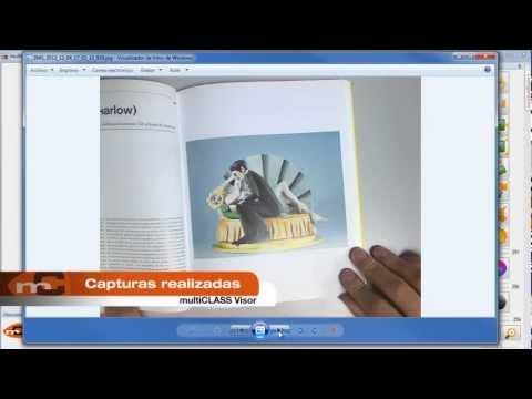 Nuevo software de la cámara de documentos multiCLASS Visor