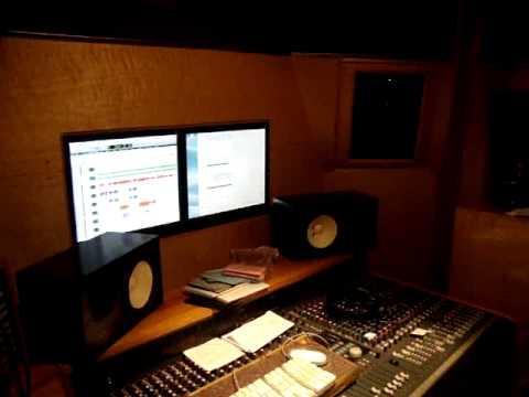 kym and sheba in studio