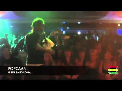 Popcaan - When We Party (Live in Italy) November 2012