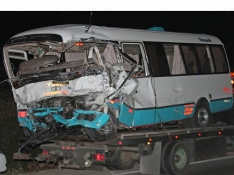 JAMAICA NOW: Deadly holiday crash ... Police await DNA results ... Underwater light thieves