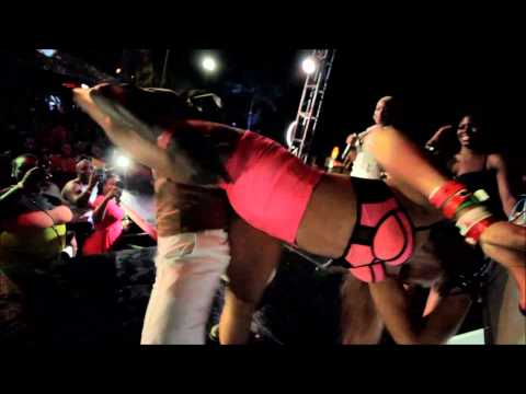 Tiana Performing Fuck Like The World Ago End - Negril Live Concert at Jungle Night Club