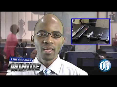 THE GLEANER MINUTE: Five guns seized ... Legalise medical ganja... Text book prices up