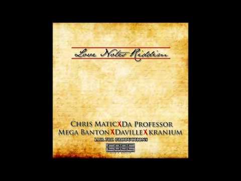 Kranium   Chris Matic   Daville & More - Love Notes Riddim Mix -- September 2013