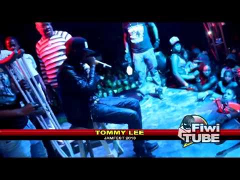 Tommy Lee, Stylish, Destiny, Jimbo and Ryme Minister at Jamfest 2013