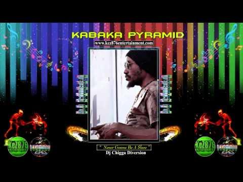 Kabaka Pyramid - Never Gonna Be A Slave ||Cane River Riddim|| Dj Frass Records