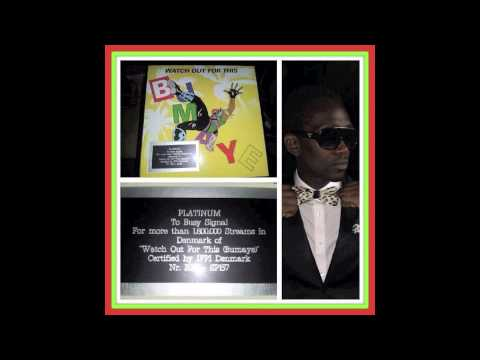 Busy Signal highest earner in 2013 & platinum selling