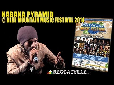 Kabaka Pyramid - Never Gonna Be A Slave  @ Blue Mountain Music Festival 2014