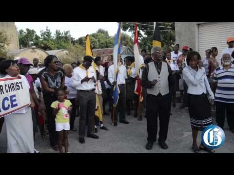 East Kingston marches for peace