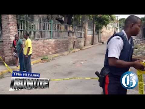 THE GLEANER MINUTE: Murder/suicide downtown ... Quake rocks Mexico ... Ramdin for captain