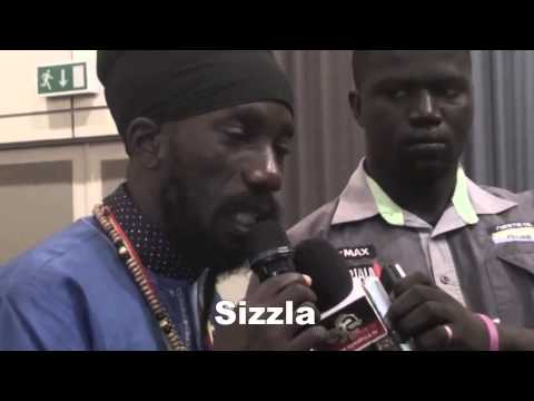SIZZLA LIVE IN GAMBIA 2015
