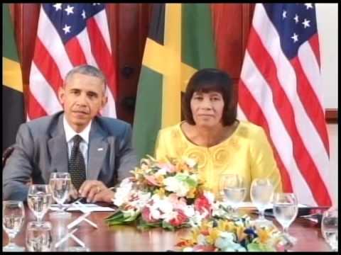 USA Jamaica Bilateral Talk - March 15, 2015