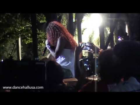 Lady Saw performance at the Best of the Best 2015 Concert