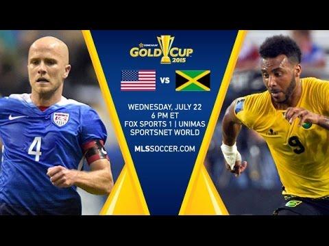USA vs Jamaica 1-2 Full Match ( Gold Cup) 22/07/2015 HD