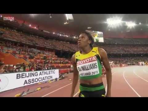 Jamaican History Danielle Williams Wins Women 100m Hurdles Final IAAF World Championship 2015