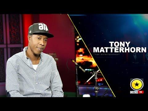 Onstage - Tony Matterhorn: Answers Bounty Killer