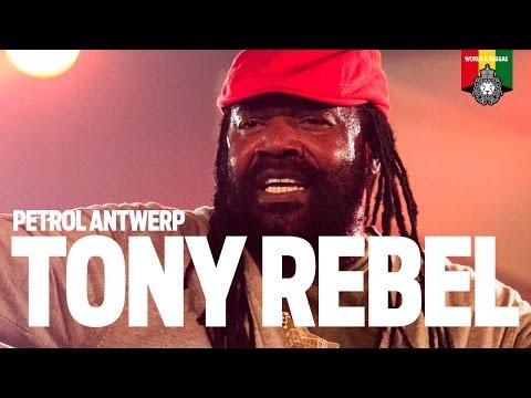 Tony Rebel Live at Petrol Antwerp 2015