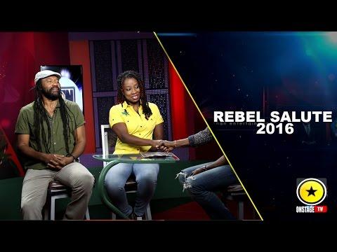 Onstage: Tony Rebel & Daughter Explain Herb Curb