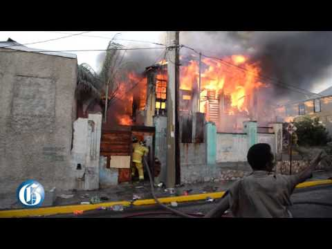 Massive fire leaves 15 homeless on Duke Street