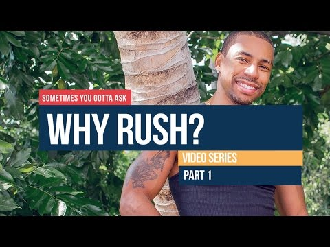 WHY RUSH: Advice for Young DJs - Part 1