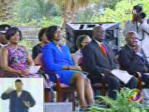 ANDREW HOLNESS   SWEARING IN CEREMONY JAMAICA PART 4