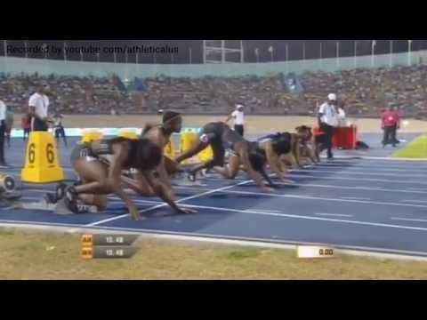 Shelly Ann Fraser Pryce Wins 100m Women Final Jamaica Racers Grand Prix 2016
