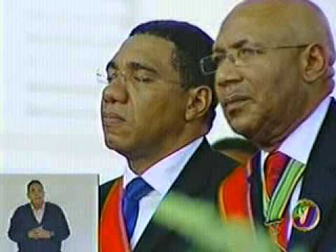 ANDREW HOLNESS   SWEARING IN CEREMONY JAMAICA PART 6