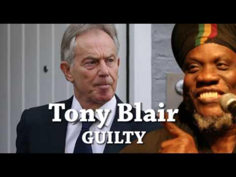 Mutabaruka CUTTING EDGE 07/07/2016 lock up Tony Blair