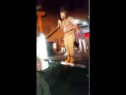 Aidonia, SIAD HE IS THE BADDEST TING NEXT TO VYBZ KARTEL | live Performance | JUNE 2016