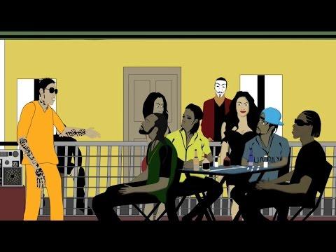 Alkaline, Mavado, Popcaan & Bounty Killa Playing Dominoes Ft. Kartel