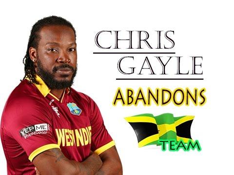 TVJ Sports - Chris Gayle ABANDONS Jamaican Team for St. Kitts