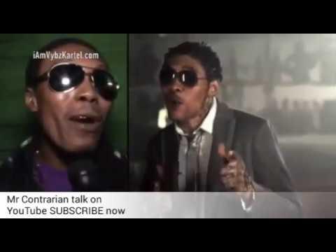 Man look like Vybz Kartel get INTERVIEW + Him freestyle